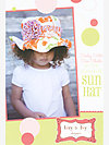 Sally Sells Sea Shells by the Seashore Sun Hat Pattern by Izzy & Ivy Designs