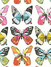Flutter CJ6444-WHIT Fabric by Laura Gunn