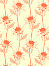 Pretty Potent Voile VOAH027-Tangerine Voile Fabric by Anna Maria Horner