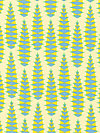 Pretty Potent Voile VOAH029-Lime Voile Fabric by Anna Maria Horner