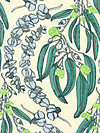 Pretty Potent Rayon RAAH010-Lime Rayon Fabric by Anna Maria Horner