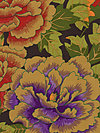 Kaffe Fassett GP33-Rust/Purple Fabric