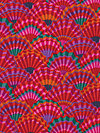 Kaffe Fassett PWGP143-Red Fabric