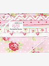 Lulu Roses PINK Fat Quarter Bundle by Tanya Whelan