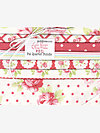 Lulu Roses RED Fat Quarter Bundle by Tanya Whelan