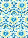 Good Company PWJP090-Azul Fabric by Jennifer Paganelli