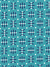 Honor Roll PWAH080-Teal Fabric by Anna Maria Horner