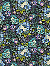 Honor Roll PWAH083-Charcoal Fabric by Anna Maria Horner