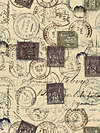 Eclectic Elements PWTH021-Neutral Fabric by Tim Holtz