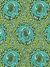 Violette PWAB140-Jade Fabric by Amy Butler