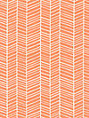 Flora PWJD036-Carrot Fabric by Joel Dewberry