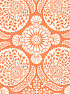 Flora PWJD102-Carrot Fabric by Joel Dewberry