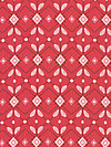 Folk Song PWAH090-Pomegranate Fabric by Anna Maria Horner