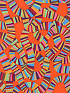 Brandon Mably PWBM049-ORANG Fabric