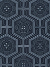 Katagami PWPG046-NAVYX Fabric by Parson Gray