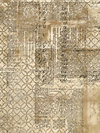 Eclectic Elements PWTH033-MULTI Fabric by Tim Holtz