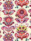 Bright Heart PWAB146-NATUR Fabric by Amy Butler