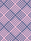 Atrium PWJD113-PINKX Fabric by Joel Dewberry
