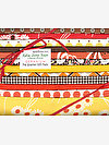 Katie Jump Rope GERANIUM Fat Quarter Gift Pack by Denyse Schmidt