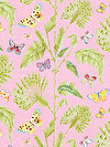 Butterfly Garden PWDF227-PINKX Fabric by Dena Designs
