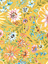 Butterfly Garden PWDF228-YELLO Fabric by Dena Designs