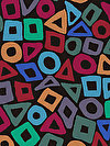 Brandon Mably PWBM057-BLACK Fabric