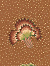 Kaffe Fassett PWGP149-BROWN Fabric