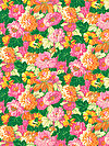 Classic Floral PWSL034-CITRU Fabric by Snow Leopard Designs