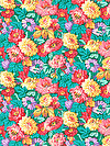Classic Floral PWSL034-SPRIN Fabric by Snow Leopard Designs
