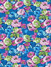 Classic Floral PWSL034-TWLIG Fabric by Snow Leopard Designs