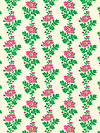 Classic Floral PWSL036-CITRU Fabric by Snow Leopard Designs