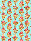 Classic Floral PWSL036-SPRIN Fabric by Snow Leopard Designs