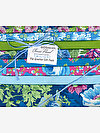 Classic Floral TWILIGHT Fat Quarter Gift Pack by Snow Leopard Designs