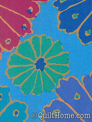 Kaffe Fassett Wide Backing Qbgp001 Bluex Quilt Backing Fabric