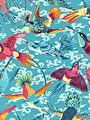 Natural World PWSL040-TROPI Fabric by Snow Leopard Designs