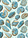 Natural World PWSL043-TROPI Fabric by Snow Leopard Designs