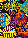Brandon Mably PWBM051-BLACK Fabric