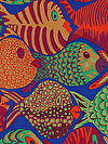 Brandon Mably PWBM051-BLUEX Fabric