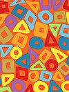 Brandon Mably PWBM057-ORANG Fabric