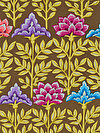 Kaffe Fassett PWGP161-BROWN Fabric