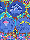 Artisan PWKF001-BLUEX Fabric by Kaffe Fassett