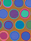 Artisan PWKF002-BLUEX Fabric by Kaffe Fassett