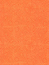 Jasmine AVW-16648-322 Orange Spice Fabric by Valori Wells