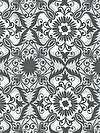 Jasmine AVW-16650-184 Charcoal Fabric by Valori Wells