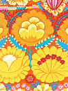 Artisan PWKF001-YELLO Fabric by Kaffe Fassett