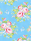 Rambling Rose PWTW129-BLUEX Fabric by Tanya Whelan