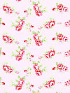 Rambling Rose PWTW131-PINKX Fabric by Tanya Whelan