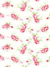 Rambling Rose PWTW131-WHITE Fabric by Tanya Whelan