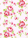 Rambling Rose PWTW133-PINKX Fabric by Tanya Whelan