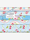 Rambling Rose BLUE Half Yard Gift Pack by Tanya Whelan